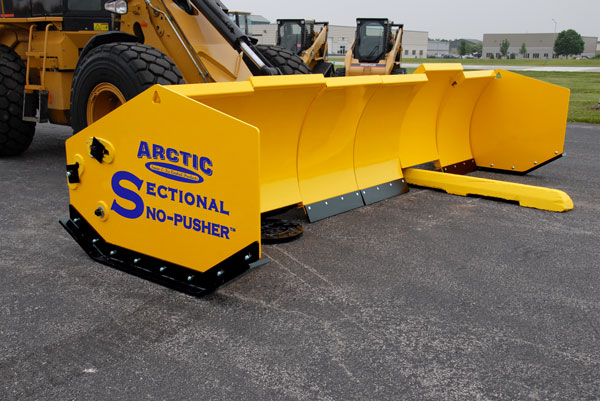 Arctic Snow And Ice Products Sectional Sno Pusher