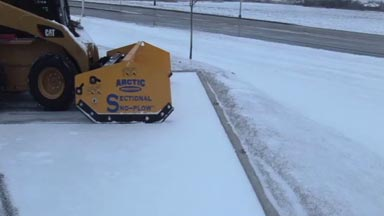 Arctic Snow and Ice Products | Sectional Sno-Pusher™